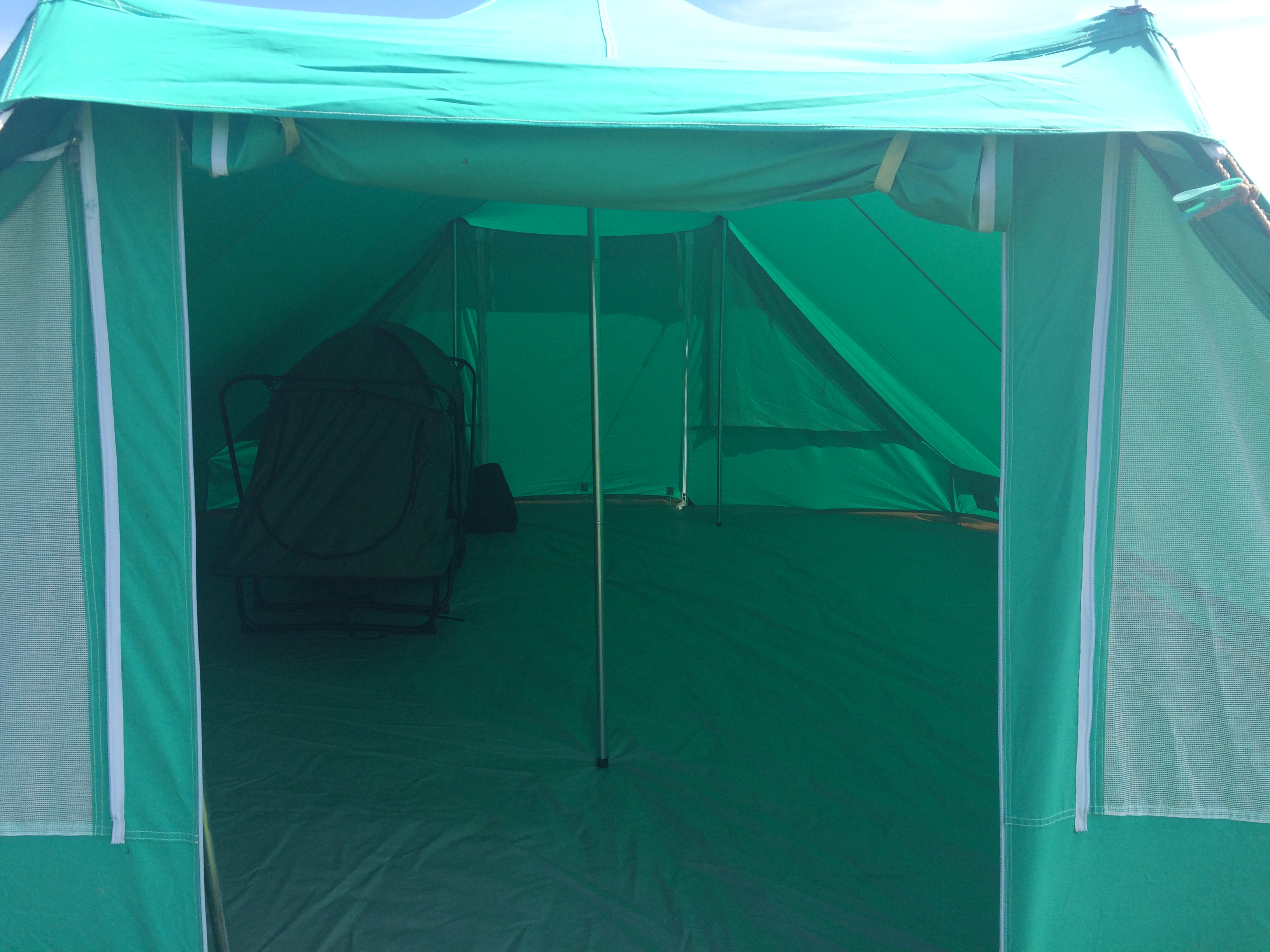Nepal tent and cot tent