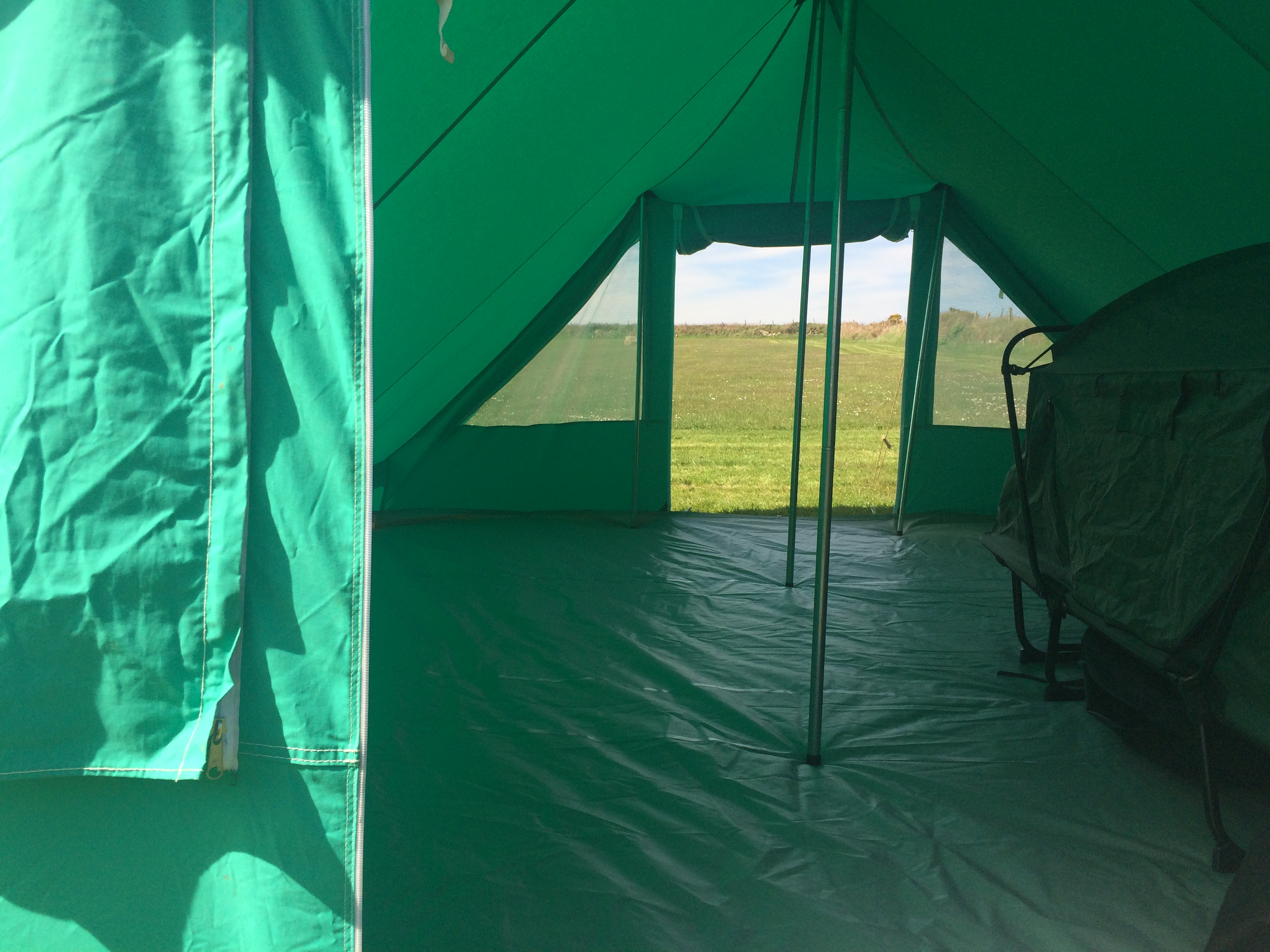 Nepal tent space