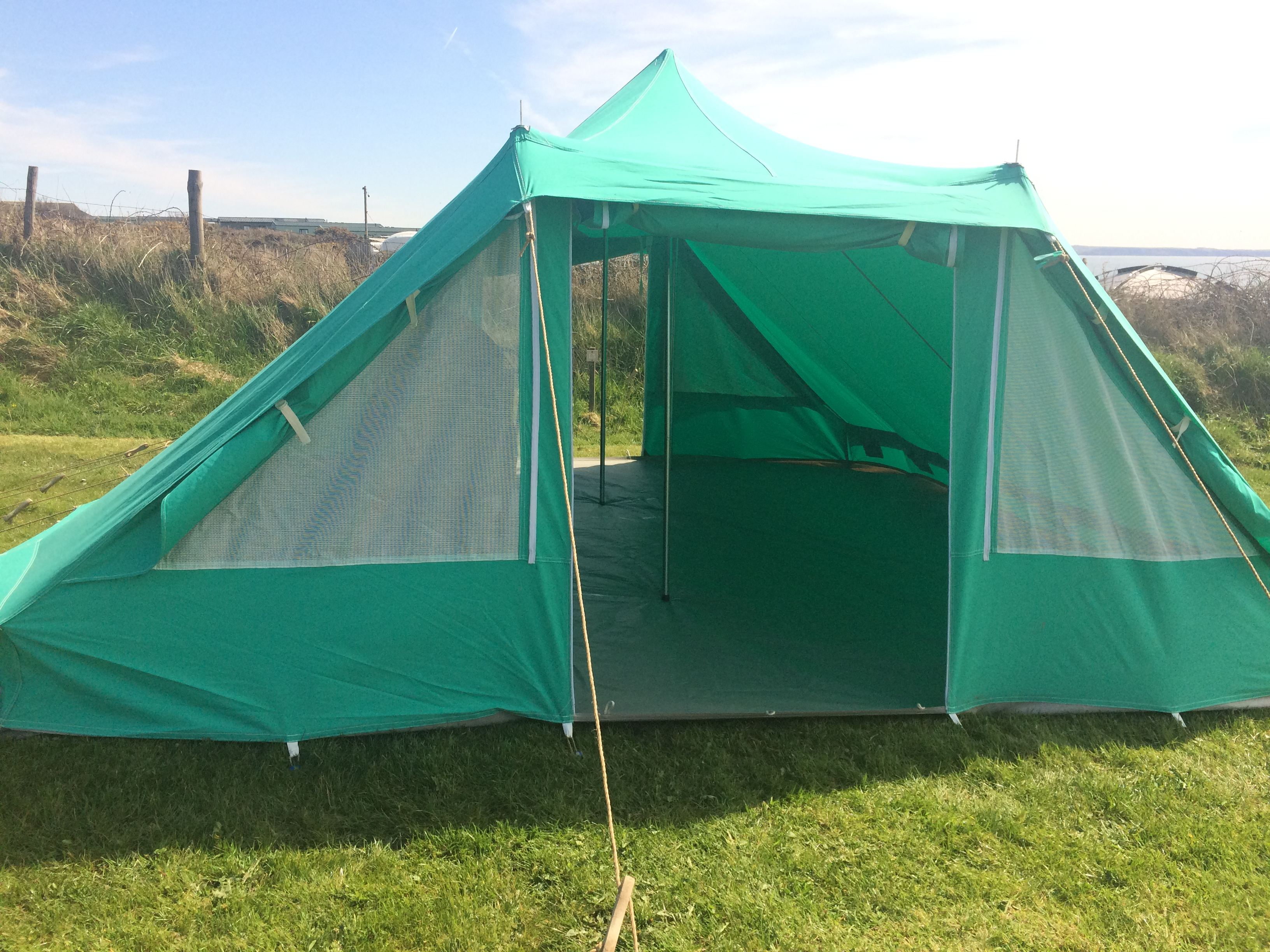 Nepal tent dual entrance light