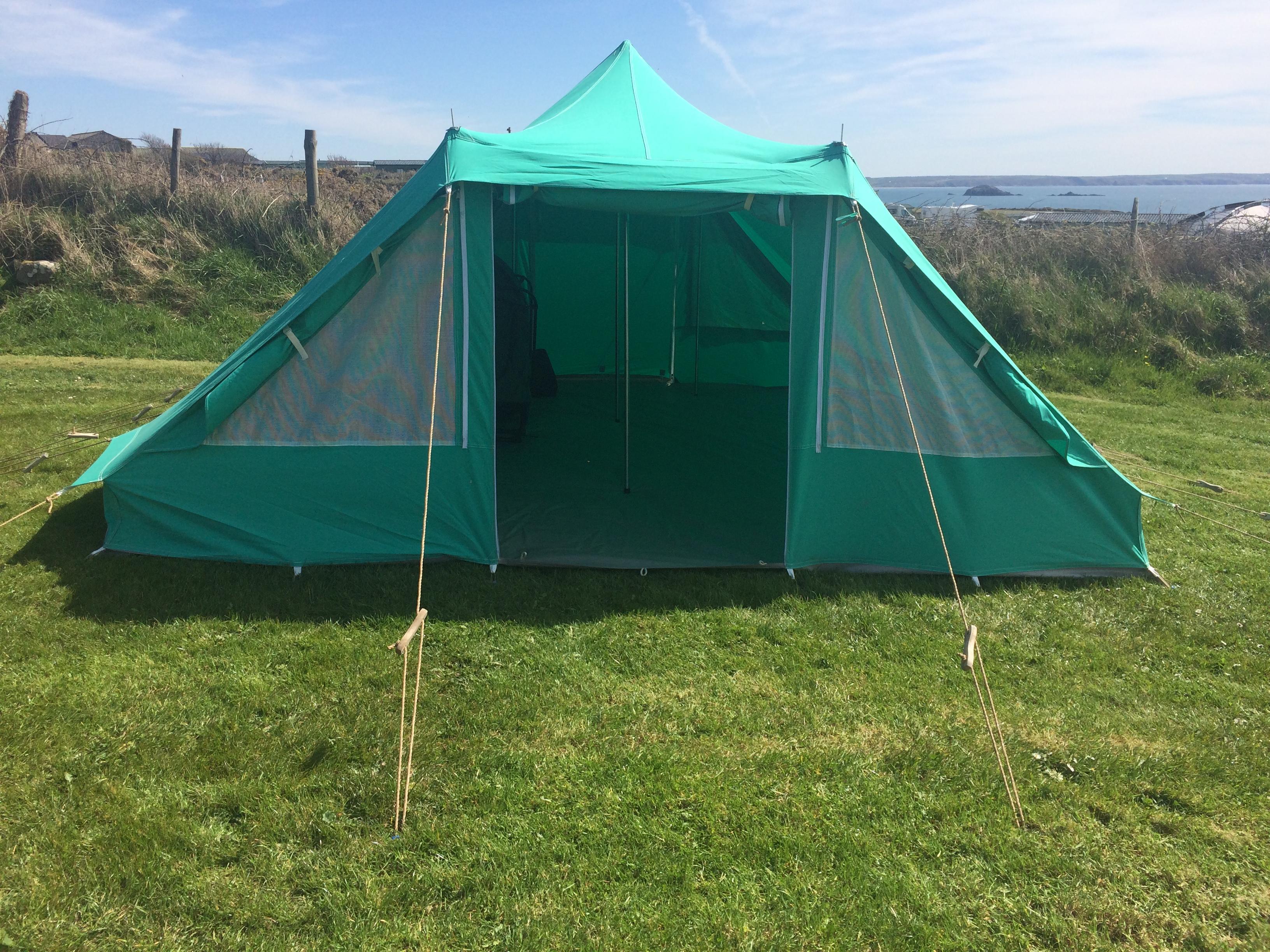 Nepal tent open