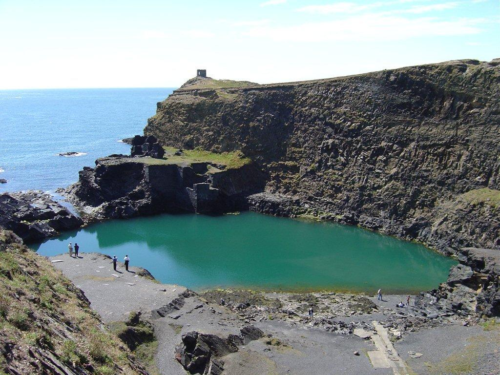 Blue Lagoon at Abereiddy