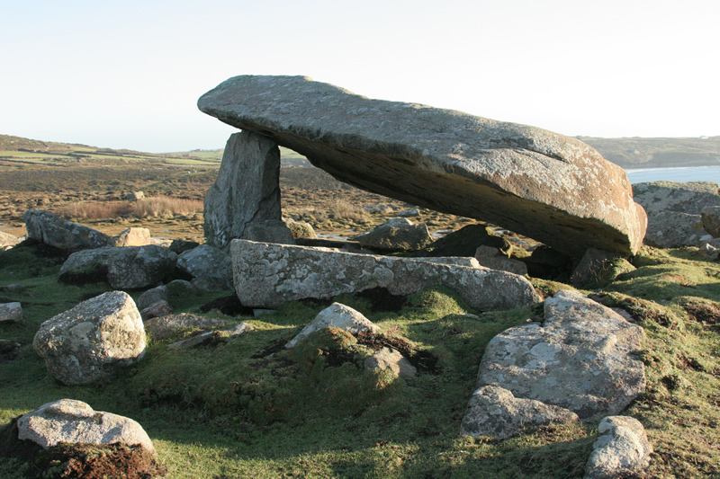 Cromlech at St Davids Head